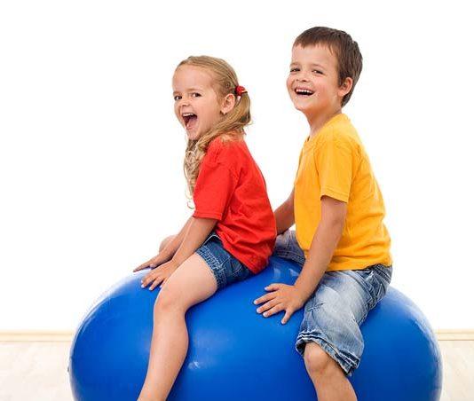 Kinderen sport